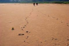 ξηρά άμμος Στοκ εικόνα με δικαίωμα ελεύθερης χρήσης