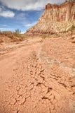 Ξηρά λάσπη, ξηρασία και ξηρά επίγεια έννοια στοκ φωτογραφία με δικαίωμα ελεύθερης χρήσης