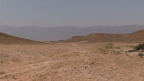 Ξηρά έρημος στο Ομάν απόθεμα βίντεο