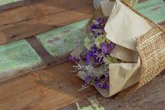 Ξηρά ανθοδέσμη λουλουδιών Στοκ εικόνα με δικαίωμα ελεύθερης χρήσης