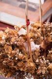 Ξηρά ανθοδέσμη λουλουδιών Στοκ Εικόνες