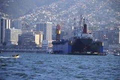 Ξηρά αποβάθρα σε Valparaiso Στοκ Φωτογραφίες