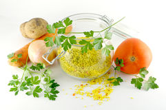 ξηρά γρήγορα λαχανικά σούπ&alph Στοκ φωτογραφίες με δικαίωμα ελεύθερης χρήσης