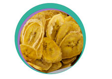 Ξηρά γλυκιά μπανάνα για το φαγητό-δάγκωμα Στοκ φωτογραφίες με δικαίωμα ελεύθερης χρήσης