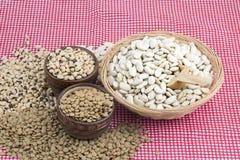 Ξηρά διατροφή ποδιών  μικτά όσπρια Φωτογραφία έννοιας τροφίμων στοκ εικόνες