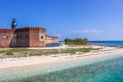 Ξηρά είσοδος Tortugas Στοκ εικόνες με δικαίωμα ελεύθερης χρήσης