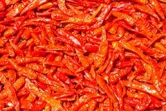 Ξηρά πιπέρια για το μαγείρεμα Στοκ Εικόνες