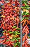 Ξηρά πιπέρια: Στοκ Φωτογραφία