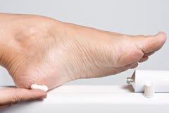 ξηρά πόδια Στοκ Εικόνες