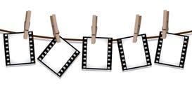 ξηρά ταινία που κρεμά έξω τις  ελεύθερη απεικόνιση δικαιώματος