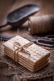 Ξηρά τραγανά ψωμιά Στοκ φωτογραφίες με δικαίωμα ελεύθερης χρήσης