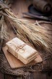 Ξηρά τραγανά ψωμιά Στοκ Φωτογραφίες