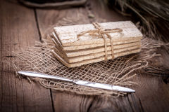 Ξηρά τραγανά ψωμιά Στοκ Εικόνα