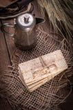 Ξηρά τραγανά ψωμιά στοκ εικόνες με δικαίωμα ελεύθερης χρήσης