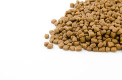 Ξηρά τρόφιμα γατών Στοκ Εικόνες