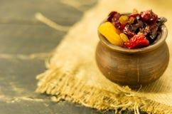 ξηρά τρόφιμα γλυκό πρόχειρων φαγητών γλυκό προγευμάτων Στοκ εικόνες με δικαίωμα ελεύθερης χρήσης