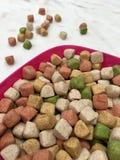 ξηρά τρόφιμα σκυλιών Στοκ φωτογραφίες με δικαίωμα ελεύθερης χρήσης