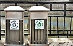 Ξηρά & υγρά απόβλητα Στοκ φωτογραφία με δικαίωμα ελεύθερης χρήσης