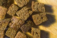 Ξηρά crumbs ψωμιού Στοκ εικόνα με δικαίωμα ελεύθερης χρήσης