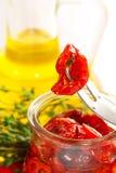 ξηρές μαριναρισμένες ντομά&tau στοκ φωτογραφία με δικαίωμα ελεύθερης χρήσης