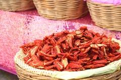Ξηρές ντομάτες Στοκ εικόνες με δικαίωμα ελεύθερης χρήσης