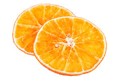 ξηρές πορτοκαλιές φέτες Στοκ Εικόνα