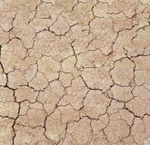 Ξηρές ρωγμές στο στεγνωμένο χώμα στοκ εικόνα με δικαίωμα ελεύθερης χρήσης