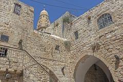 ξηρές της Ιερουσαλήμ οδοί οδών λινού καθαρές στοκ εικόνα με δικαίωμα ελεύθερης χρήσης
