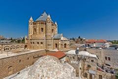 ξηρές της Ιερουσαλήμ οδοί οδών λινού καθαρές στοκ εικόνες