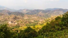 Ξηρασία βουνών στοκ εικόνα