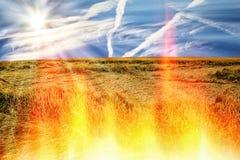 Ξηρασία - φυσική καταστροφή στοκ εικόνα με δικαίωμα ελεύθερης χρήσης