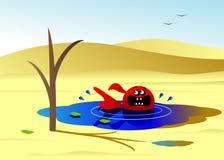 ξηρασία ελεύθερη απεικόνιση δικαιώματος
