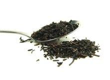 ξηρός βγάζει φύλλα το τσάι Στοκ εικόνα με δικαίωμα ελεύθερης χρήσης