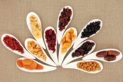 Μικτός ξηρός - φρούτα στοκ εικόνες