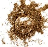 ξηρός καπνός και εκλεκτής ποιότητας ρολόι, Στοκ εικόνα με δικαίωμα ελεύθερης χρήσης