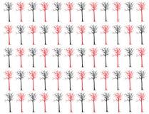 Ξηρός κλάδος δέντρων που απομονώνεται στην άσπρη πορεία υποβάθρου και ψαλιδίσματος Στοκ Εικόνες