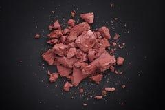 Ξηρός κόκκινος σωρός αργίλου Στοκ φωτογραφία με δικαίωμα ελεύθερης χρήσης