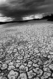 ξηρός ποταμός επάνω στοκ εικόνες