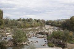 ξηρός ποταμός Στοκ Εικόνες