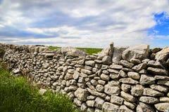 Ξηρός τοίχος και επαρχία του Ραγκούσα Στοκ Φωτογραφία