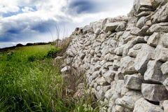 Ξηρός τοίχος και επαρχία του Ραγκούσα Στοκ εικόνα με δικαίωμα ελεύθερης χρήσης