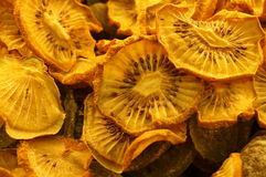 Ξηρός - φρούτα από τα φρούτα ακτινίδιων Στοκ Εικόνες