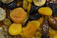 Ξηρός - φρούτα και θεραπευμένος στοκ φωτογραφία