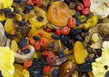 Ξηρός - φρούτα και θεραπευμένος στοκ εικόνες με δικαίωμα ελεύθερης χρήσης