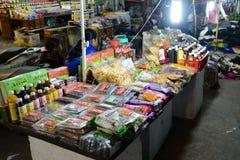 Ξηρός - φρούτα στην αγορά DA Lat Στοκ εικόνα με δικαίωμα ελεύθερης χρήσης