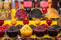 Ξηρός - φρούτα στοκ φωτογραφίες