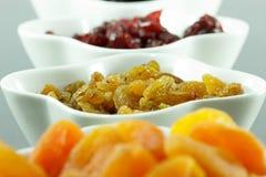 Ξηρός - φρούτα Στοκ Εικόνες