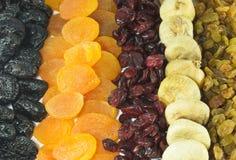 Ξηρός - φρούτα Στοκ εικόνα με δικαίωμα ελεύθερης χρήσης
