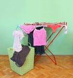 Ξηρότερο ράφι πλυντηρίων Στοκ Εικόνες