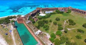 Ξηρό εθνικό πάρκο Tortugas, οχυρό Jefferson Φλώριδα ΗΠΑ Στοκ εικόνα με δικαίωμα ελεύθερης χρήσης